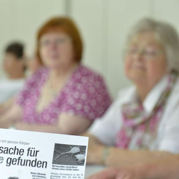 Tagende Selbsthilfegruppe